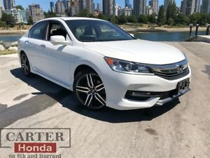 2016 Honda Accord Sport + Summer Clearance! On Now!