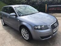 AUDI A3 1.9 TDI ( 56 plate 2007 years) very good condition