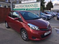 Toyota Yaris 1.33 VVT-i TR 3dr£5,685 p/x welcome 1 YEAR FREE WARRANTY. NEW MOT