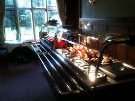 Moffat Carvery Unit & Hot food service counter