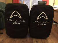 Wharfedale Pro Titan 15A Powered PA Speakers (Pair) inc Bags