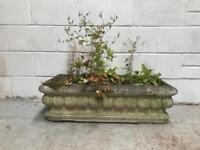 Large stone antique planter