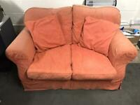 2 off 2 seater sofas - FREE to collect only