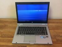 HP EliteBook 8460P laptop Intel 3.2ghz x 4 Core i5 2nd gen processor 500gb hard drive