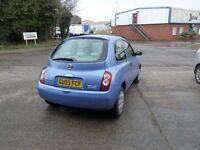Nissan Micra. 2003.1240cc.
