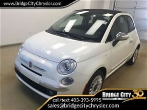 2015 Fiat 500C Lounge- Leather Heated Seats! Premium Audio!