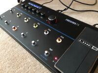 Line 6 Firehawk FX less than a year old, boxed, immaculate and as new.