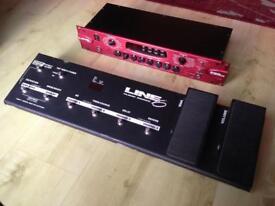Line 6 Pod Pro + Line 6 Pedalboard
