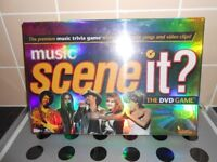 BRAND NEW SEALED - MUSIC SCENE IT? THE DVD GAME