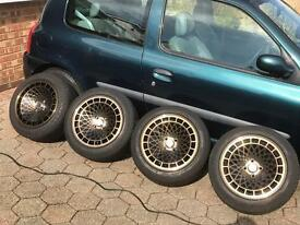 "Stuttgart st7 Alloy wheels 15"" 4x100"