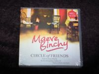 BRAND NEW: 'Circle of Friends' audio book by Maeve Binchy -2 MP3-CD (Unabridged): RRP £18.99