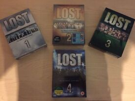Lost Seasons 1-4 Boxsets (DVD) most brand new see description
