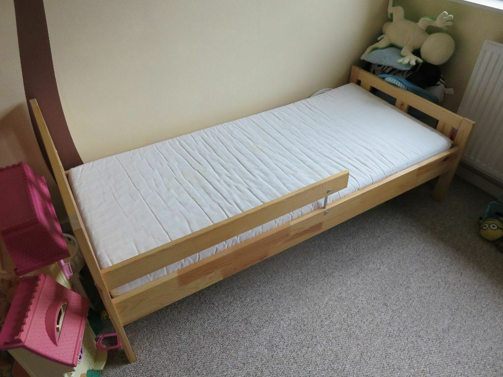 Schreibtisch Ikea Galant Gebraucht ~ Ikea Kritter toddler bed with Ikea Vyssa mattress  in Edgbaston, West