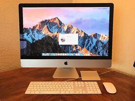 "iMac 27"" i5 late 2012 3.2GHZ 16GB memory NVIDIA graphics"