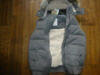 Womens Fat face Heritage Gilet brand new with labels size 12 charcoal colour