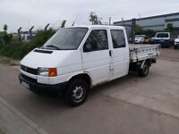 LHD VOLKSWAGEN TRANSPORTER DOKA , we have more left hand drive ---15 cheap cars on stock---