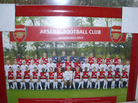 2 x Arsenal framed pictures