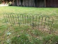 Garden decorative fence