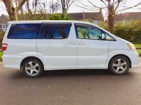 2005 | 8 Seater Toyota Alphard | Automatic | Low Miles | Front/Back camera | ...