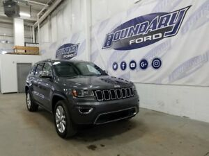 2017 Jeep Grand Cherokee Limited W/ 3.6L V6, 4WD, Automatic