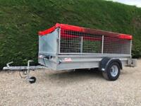 Buffalo 8ft car trailer with sides