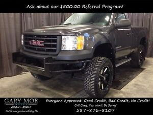 2011 GMC Sierra 1500 Reg Cab *4x4* *Lifted* *Aftermarket Rims*