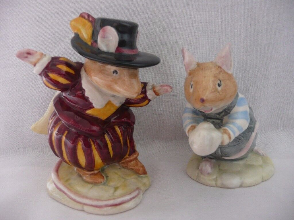 Brambly Hedge Royal Doulton Teasel and Wilfred Entertains