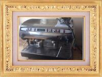Commercial two groups coffee machine