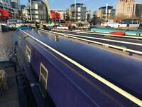 Residential narrowboat with mooring narrow boat for sale london