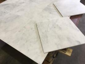 White calacatta marble tiles floor and wall marble 457x457x12mm