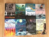 Michael morpurgo book bundle of 8 brand new books
