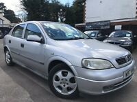 Vauxhall Astra 1.8 i 16v Starts And Drives Service History 1 Owner 2 Keys Long MOT Until 2018