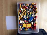 Box of Lego, some vintage