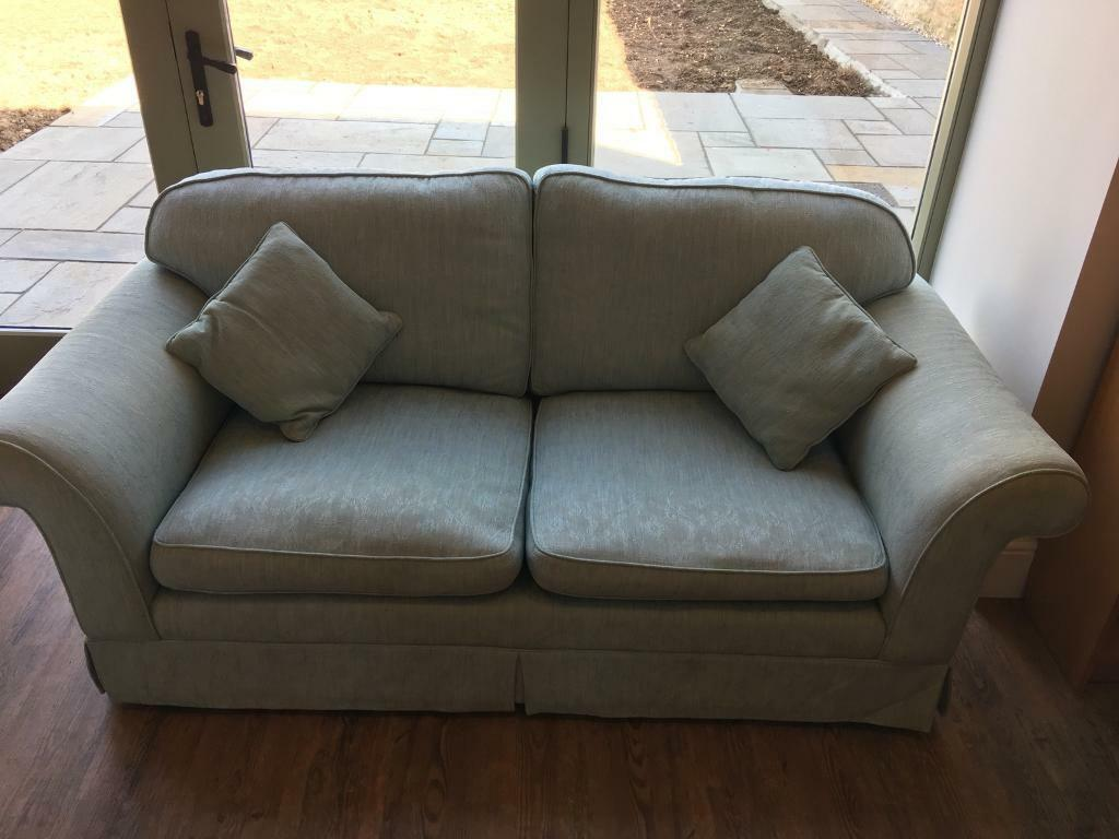 Laura Ashley Winchester Sofa With 2 Matching Scatter