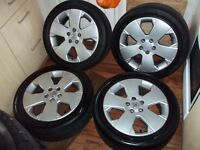 VAUXHALL VECTRA GSI SRI SIGNUM ALLOYS 17 INCH SET OF 4