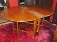 Drop Leaf Dining Table.