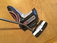 Odyssey O works 1W putter 34 inch super stroke grip