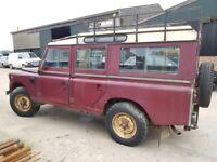 Land Rover Defender Series 3 109 Station Wagon Barn Find