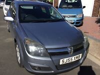 Vauxhall Astra 1.6 sxi twin port 2005 facelift model 5 door hatch 12 months mot taxed