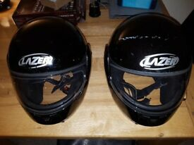 x2 Motorcycle Helmets