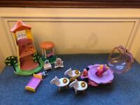 2 x Peppa Pig Playsets (Complete)