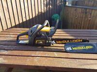 Mccalluch chain saw