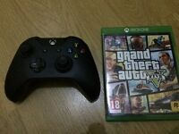 Xbox One 3.5mm jack wireless controller and GTA 5