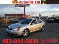 2009PONTIAC G5 4DOOR  AUTOMATIC LOW KM EVERYONE APPROVED $69/BW