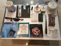 JEWELLERY TOOLS EQUIPMENT SUNDRIES AND BOOKS