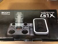 For Sale Zoom G1X Guitar Multi Effects Pedal