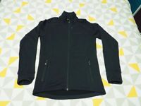 Men's Macpac Energy Stretch Fleece Outdoor Jacket Black / Small