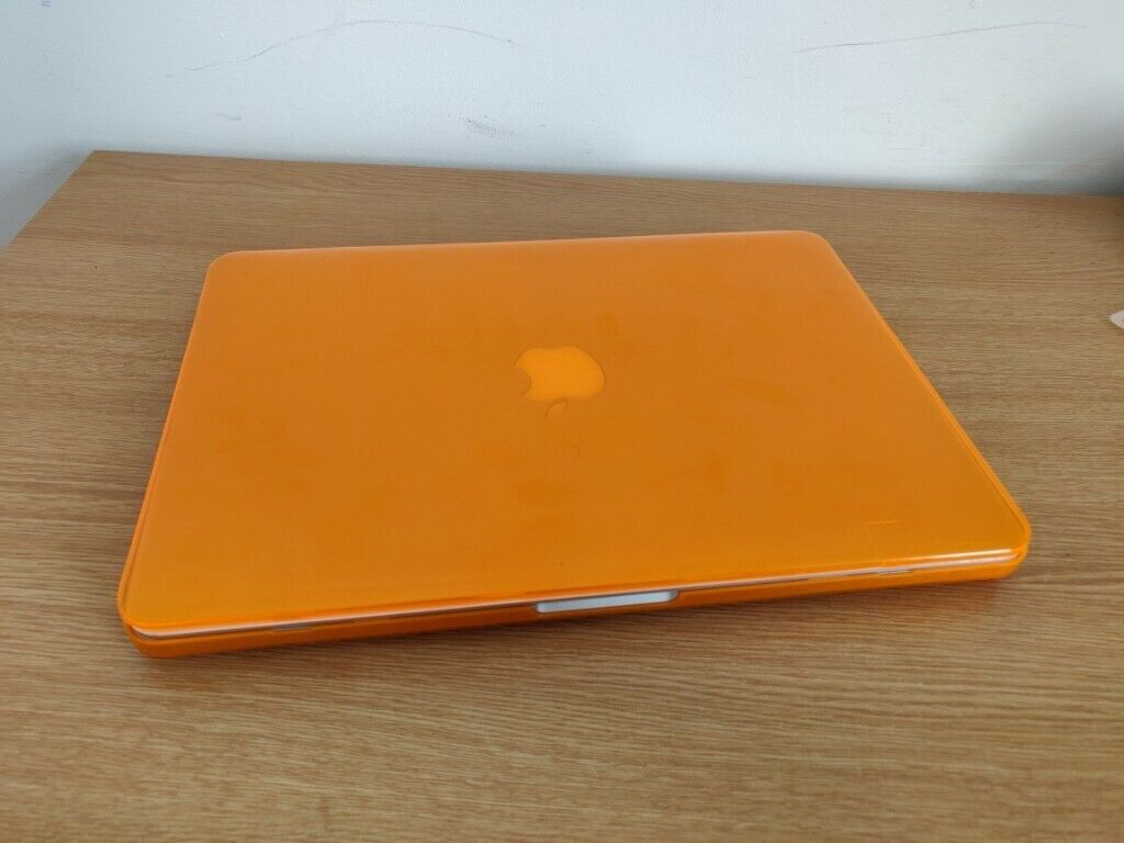 sports shoes 90ed0 d79a9 *2015 MacBook Pro (orange hard case) Retina Display 13 INCH Intel core i5  8gb 128gb sdd laptop   in Salford, Manchester   Gumtree