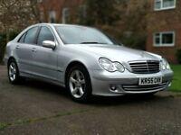 2005 December, Mercedes-Benz C180 Kompressor Avantgarde, Automatic, Petrol, FSH.