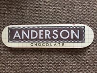 7.75' Anderson Chocolate Skateboard Deck